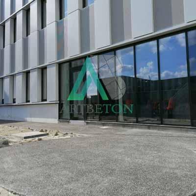 Béton désactivé CHC Clinique du Mont-Legia