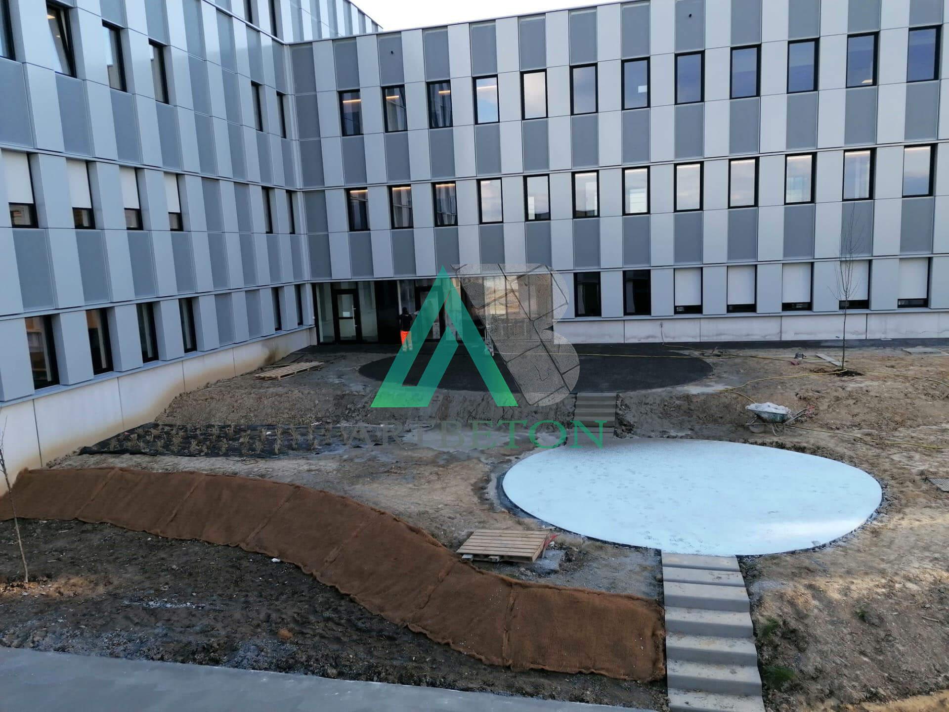 Béton désactivé CHC Clinique de Mont-Legia